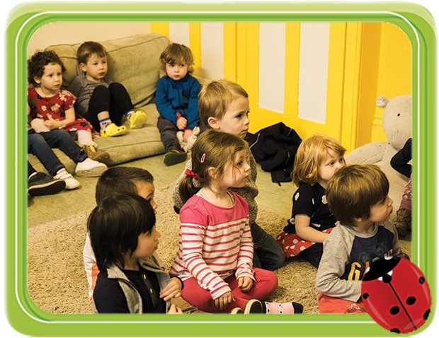 Children Sat Learning